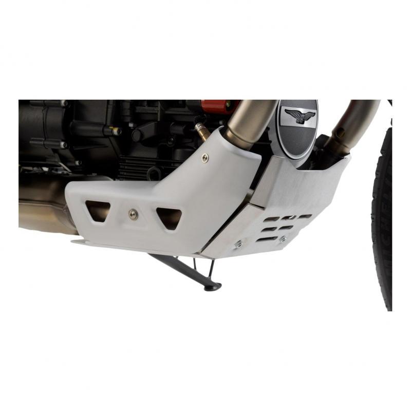 Sabot moteur SW-Motech alu Moto Guzzi V85 TT 19-20 - 4
