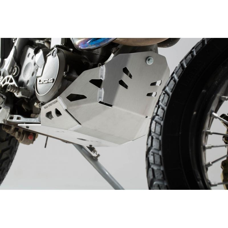 Sabot moteur SW-MOTECH gris KTM 620 Adventure 96-99 - 1