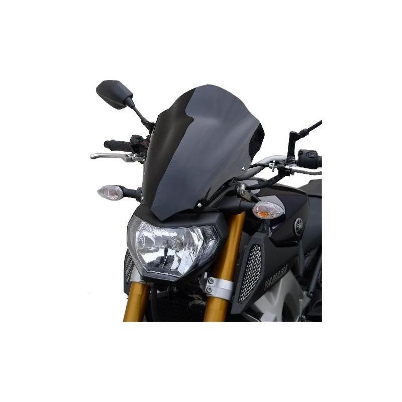 Saute-vent Bullster haute protection 41 cm fumé gris Yamaha MT-09 13-14