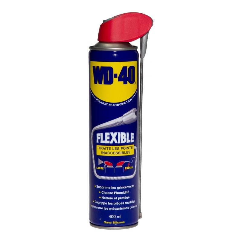 Spray WD40 400ml avec flexible