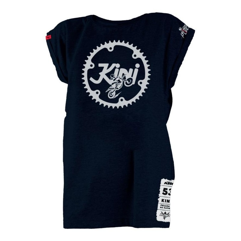 T-shirt femme Kini Red Bull Girls Ritzel bleu marine