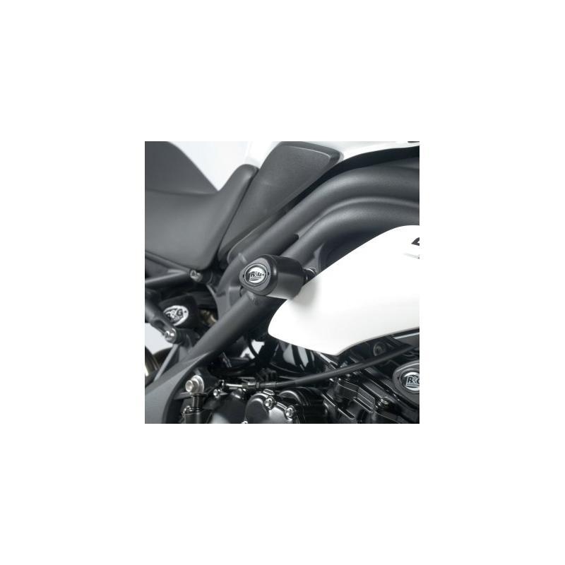 Tampons de protection inférieurs R&G Racing Aero noir Triumph Speed Triple 11-15
