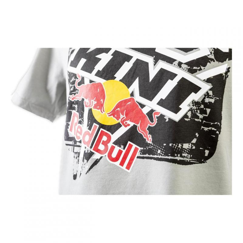 Tee shirt Kini Red Bul Square gris clair - 1
