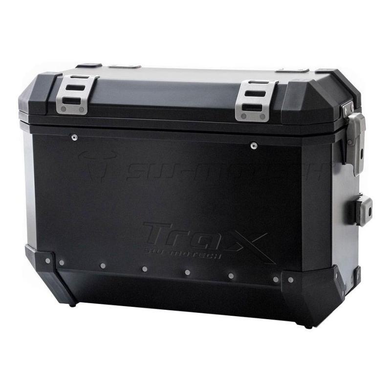 Valises latérales SW-MOTECH TRAX EVO noir 45/37L Honda CRF1000L Africa Twin 15-