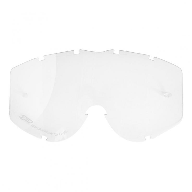Verre de remplacement transparent pour lunettes 3301