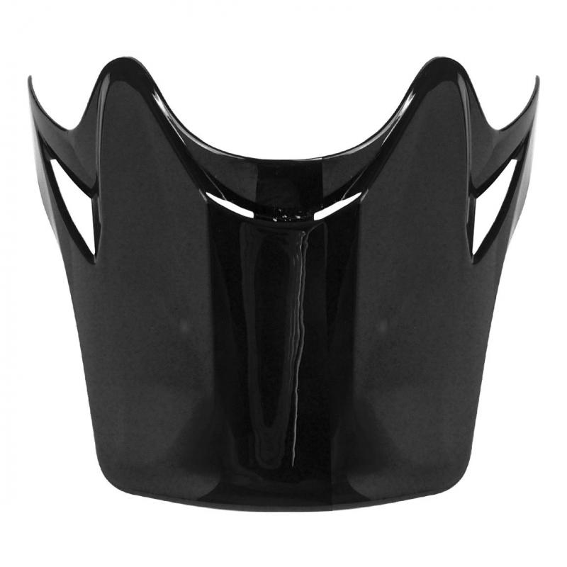 Visière casque cross enfant TNT helmets X2 noir brillant uni