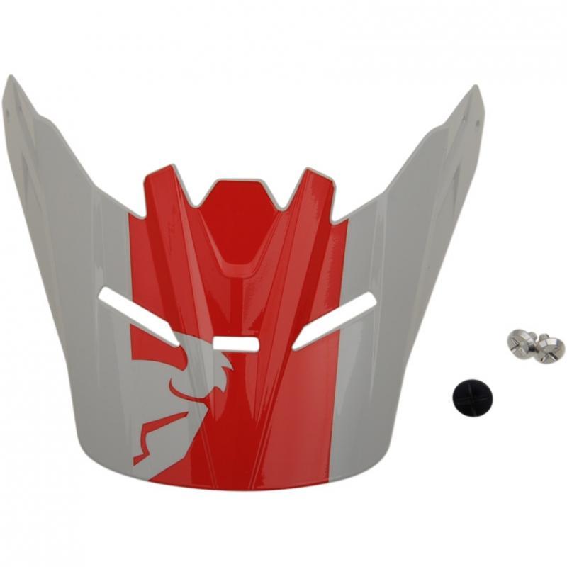 Visière de casque enfant Thor Sector Shear rouge/gris clair