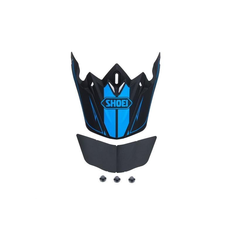 Visière de casque Shoei VFX-W Hectic TC1 noir/bleu