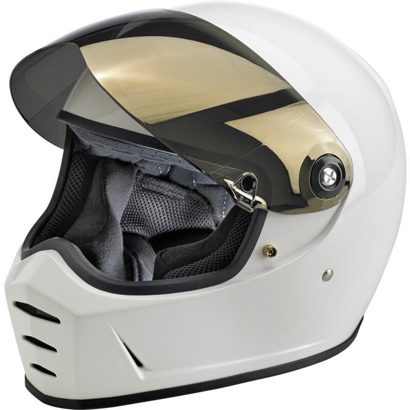 Ecran de casque antibuée Biltwell Lane Splitter iridium or - 3