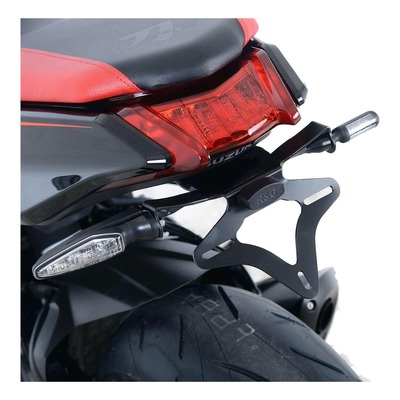 Support de plaque d'immatriculation R&G Racing noir Suzuki GSX 1000 Katana 19-21