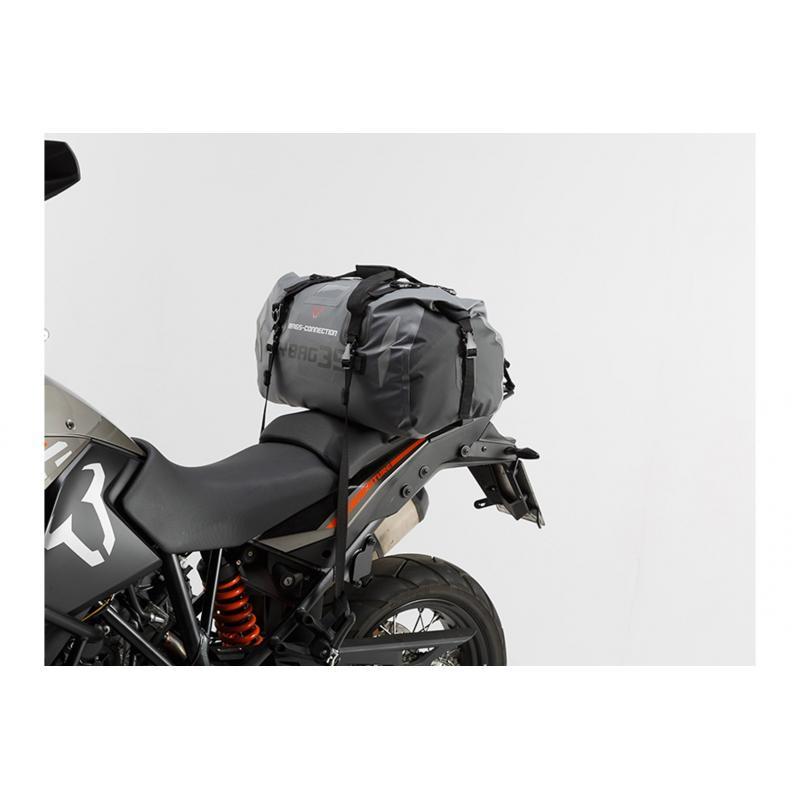 Sac de selle SW-MOTECH Drybag 350 35L gris / noir - 1