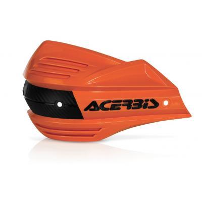 Plastiques de remplacement Acerbis pour protège-mains X-Factor orange (paire)