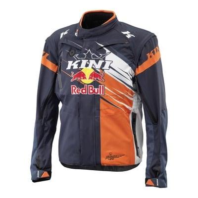 Veste enduro Kini Red Bull Competition orange/blanc/bleu