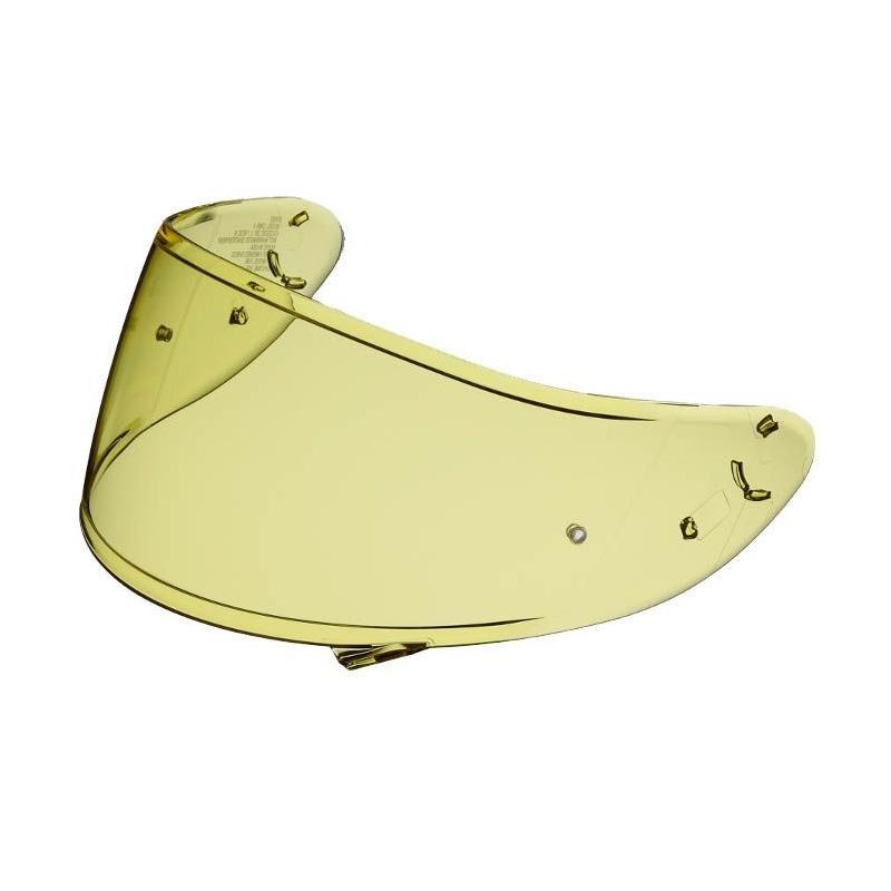 Écran Shoei CWR-1 pour casque X-Spirit 3/NXR/RYD jaune haute définition
