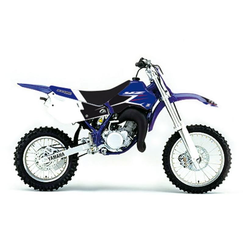 Kit déco + housse de selle Blackbird Dream Graphic 4 Yamaha 80 YZ 93-01 bleu/noir