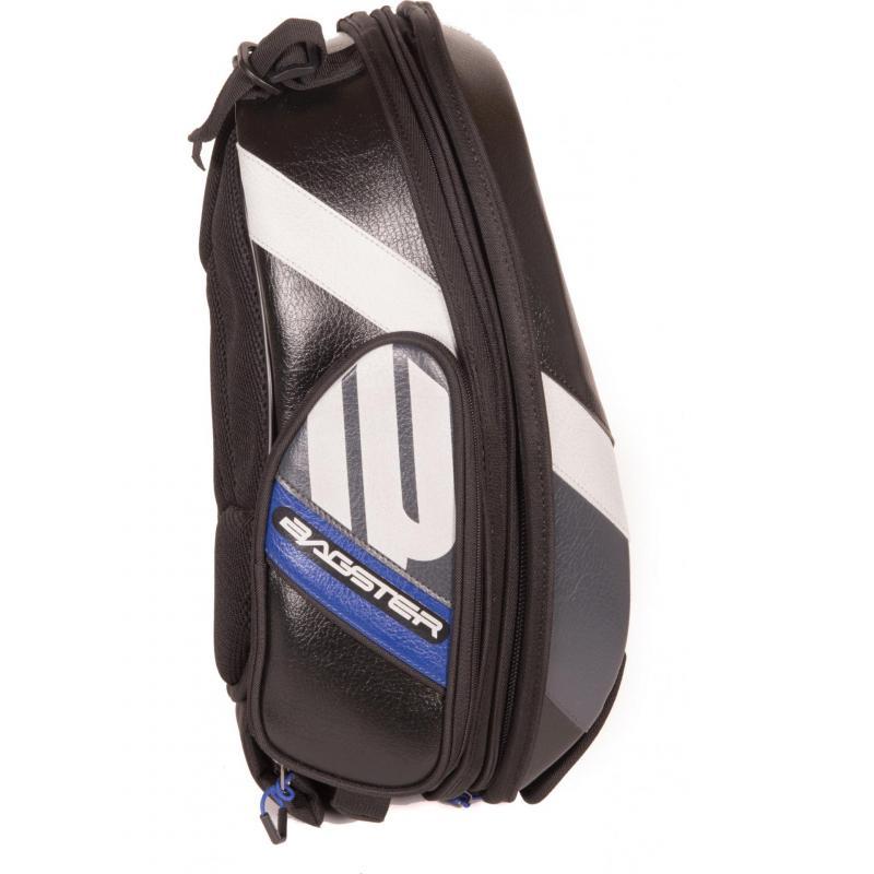 Sacoche de réservoir Bagster Stunt Evo noir/bleu - 4