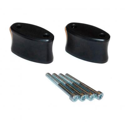 Extensions de rétroviseur SW-MOTECH Profile noir Honda CBF600 04-07