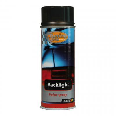 Bombe vernis vitre noir Motip 400 ml M00260