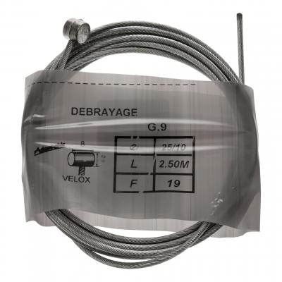 Câble frein/embrayage 25/10 2.5m 8x6