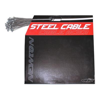 Câbles de frein VTT Newton acier Ø1,6mm x 1,8m (boîte de 100 câbles)