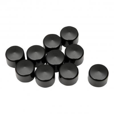 Caches boulons Drag Specialties Ø 1/4'' Allen 3/16'' lot x10 noir