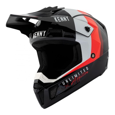 Casque cross Kenny Performance Graphic noir/rouge