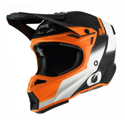 Casque cross O'Neal 10SRS Hyperlite Blur noir/orange