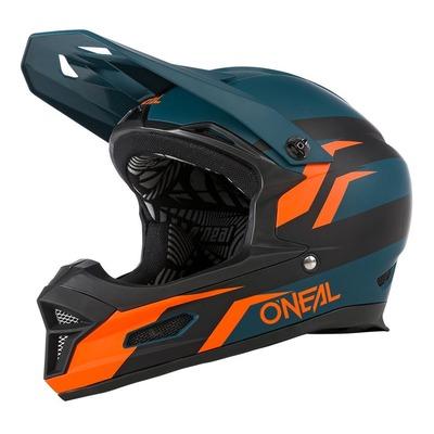 Casque vélo intégral O'Neal Fury Stage petrol/orange