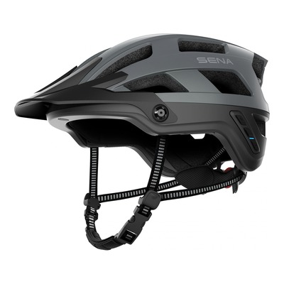 Casque vélo Sena M1 intercom Bluetooth® intégrée gris mat