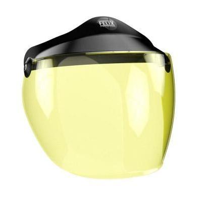Écran long Felix Motocyclette pour casque ST520 jaune