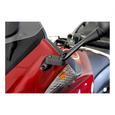 Extensions de rétroviseur SW-MOTECH noir Honda CBF 1000 06-09