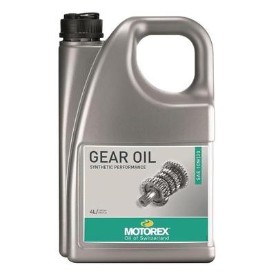 Huile boîte de vitesse Motorex Moto Gear Oil 10W30 4L