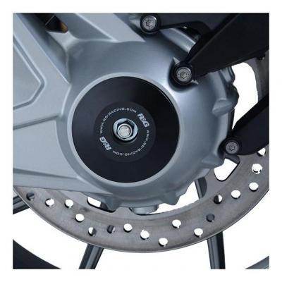 Insert d'axe de roue arrière R&G Racing noir BMW R 1250 GS 19-20