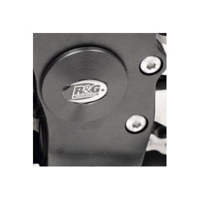 Insert de cadre inférieur gauche R&G Racing noir MV Agusta Brutale 1090 13-19