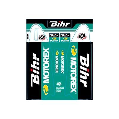 Kit de déco de fourche Kutvek Bihr/Motorex Yamaha YZF 250