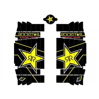Kit déco de cache radiateur Blackbird Rockstar Energy Husqvarna 250 FC 19-20