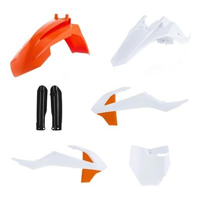Kit plastiques complet Acerbis Gas Gas 65 MC 2021 blanc/orange (couleur origine)
