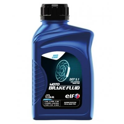 Liquide de freins Moto Brake Fluid DOT 5.1 ELF 100 % synthèse