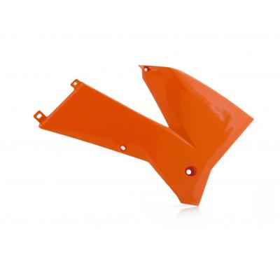 Ouïes de radiateur Acerbis KTM 400/500 EXC 05-07 orange (orange98) (paire)