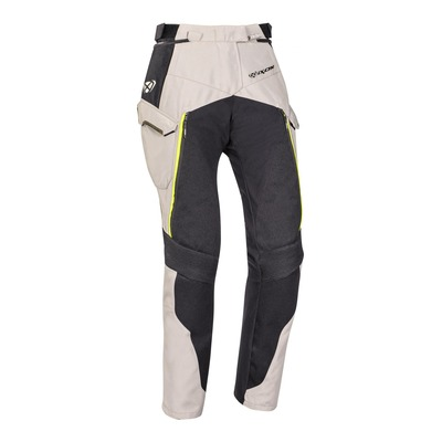 Pantalon textile femme Ixon Eddas grege/kaki/noir
