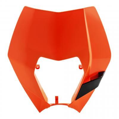 Pastique plaque phare Acerbis KTM 250 EXC 08-13 orange