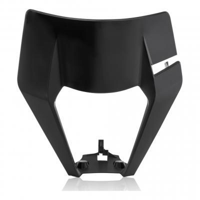Plastique plaque phare Acerbis KTM 125 EXC 17-19 noir