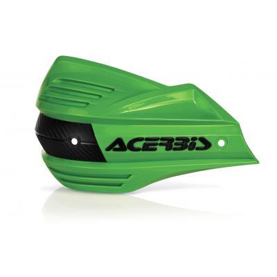 Plastiques de remplacement Acerbis pour protège-mains X-Factor vert (paire)
