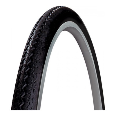 Pneu vélo City/VTC Michelin World Tour TR noir/flanc blanc (700 X 35C)