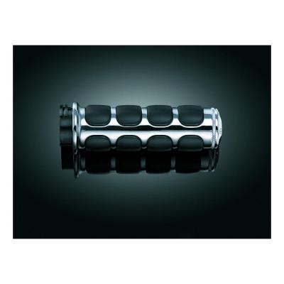 Poignées Kuryakyn Iso tirage par câble Twin-Cam 99-17 chrome