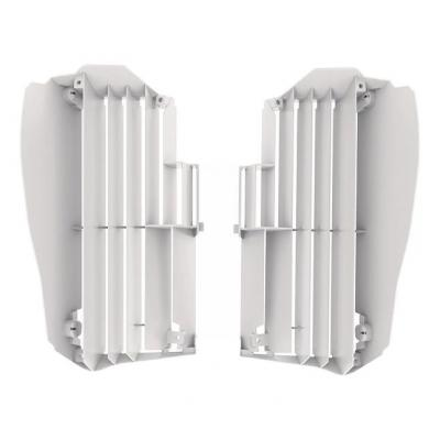 Protection de radiateur Polisport Yamaha 250 YZ-F 2019 blanc