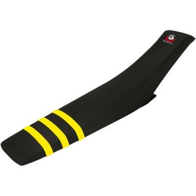 Selle complète Blackbird Works Husqvarna 250 FC 16-18 jaune/noir (hauteur +15mm)