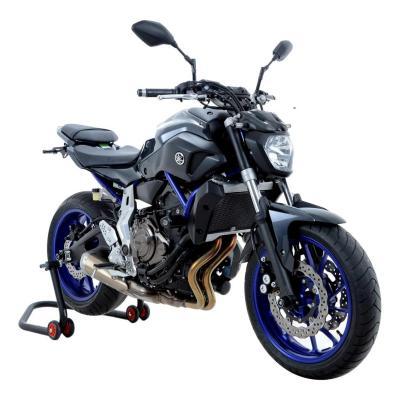 Tampons de protection R&G Racing Aero centrales noir Yamaha MT-07-14-18