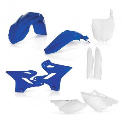 Kit plastiques complet Acerbis Yamaha 125 YZ 15-21 bleu/blanc (couleur origine)