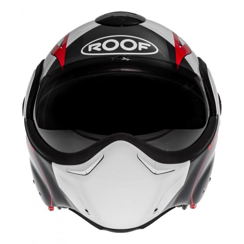 Casque modulable Roof RO9 Boxxer Viper blanc/noir/rouge - 5